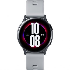 Samsung Galaxy Watch Active2 Under Armour Editie Zwart/Grijs 40mm Aluminium