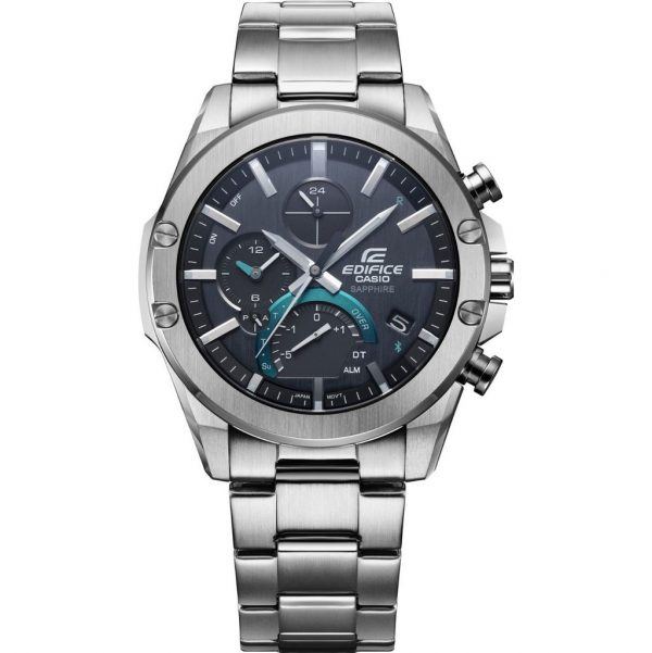 Casio Edifice Bluetooth EQB-1000D-1AER Zilver 50mm