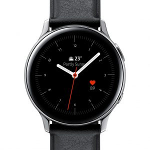 Samsung Galaxy Watch Active2 Zilver / Zwart 40 mm RVS