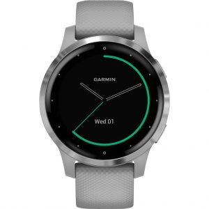 Garmin Vivoactive 4S – Zilver/Grijs – 40 mm