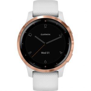 Garmin Vivoactive 4S – Rosé Goud/Wit – 40 mm