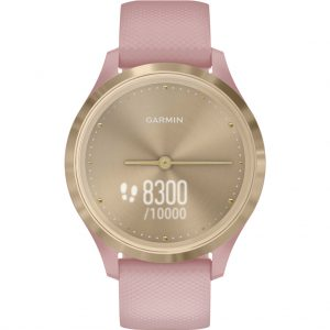 Garmin Vivomove 3S  Sport – Goud/Roze – 39 mm