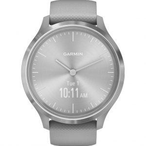 Garmin Vivomove 3 Sport – Zilver/Grijs – 44 mm