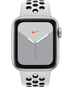 Apple Watch Nike Series 5 40mm Zilver Aluminium / Witte Sportband