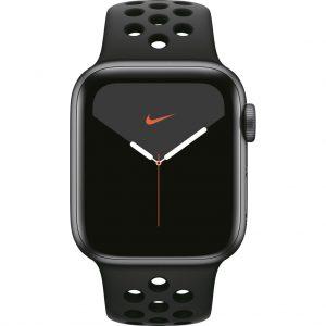 Apple Watch Nike Series 5 40mm Space Gray Aluminium / Zwarte Sportband