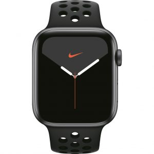 Apple Watch Nike Series 5 44mm Space Gray Aluminium / Zwarte Sportband