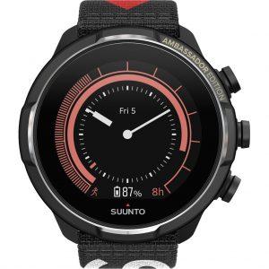 Suunto 9 Baro Titanium Ambassador Editie Zwart + extra bandje