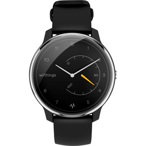 Withings Move ECG Zilver/Zwart