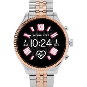 Michael Kors Access Lexington Gen 5 MKT5080 – Zilver/Rosé goud