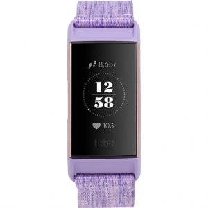 Fitbit Charge 3 Special Edition Lavender Aluminium