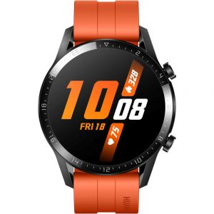 Huawei Watch GT 2 Zwart/Oranje 46mm