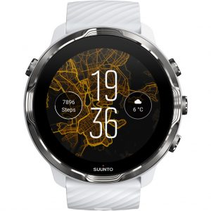 Suunto 7 Wit/Bordeaux