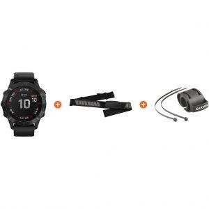 Fietspakket – Garmin Fenix 6X PRO – Zwart – 51 mm