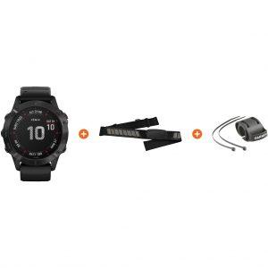 Fietspakket – Garmin Fenix 6 PRO – Zwart – 47 mm