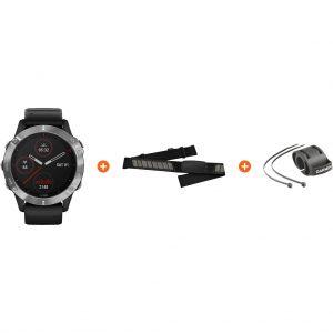 Fietspakket – Garmin Fenix 6 – Zwart – 47 mm