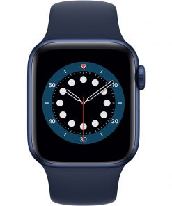 Apple Watch Series 6 40mm Blauw Aluminium Blauwe Sportband