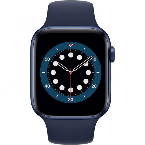Apple Watch Series 6 44mm Blauw Aluminium Blauwe Sportband