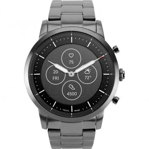Fossil Collider Hybrid HR Smartwatch FTW7009 Grijs