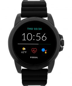 Fossil Gen 5E Display FTW4047 Zwart 44 mm